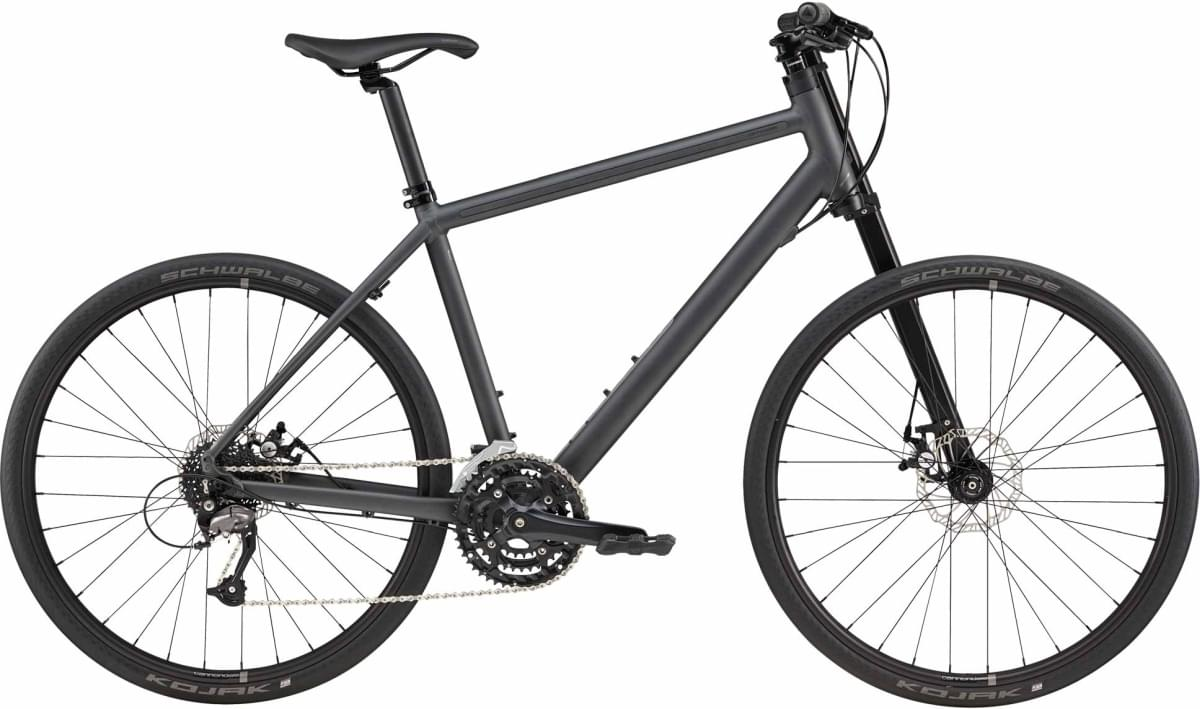 Cannondale Bad Boy 4 - Nearly Black w/ Charcoal Gray and Reflective - Matte (BBQ) M