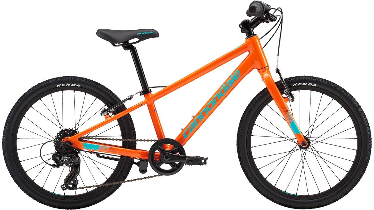 Cannondale Quick 20 Boy's - Hazard Orange w/ Slate and Turquoise, Gloss (ORG) uni