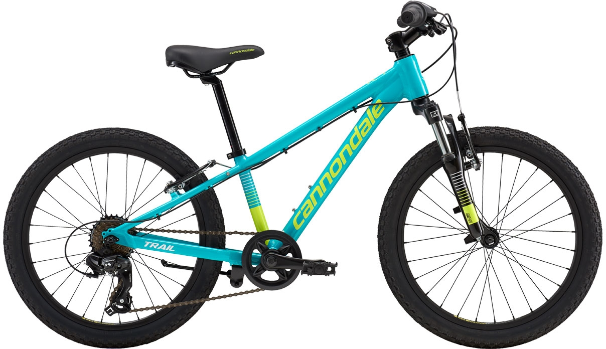 Cannondale Trail 20 Girl's - Turquoise w/ Volt and Cashmere, Gloss (TRQ) uni