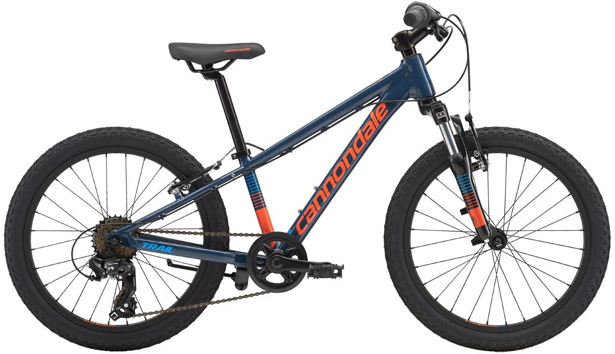 Cannondale Trail 20 Boy's - Slate w/ Hazard Orange and Aqua, Gloss (SLA) uni