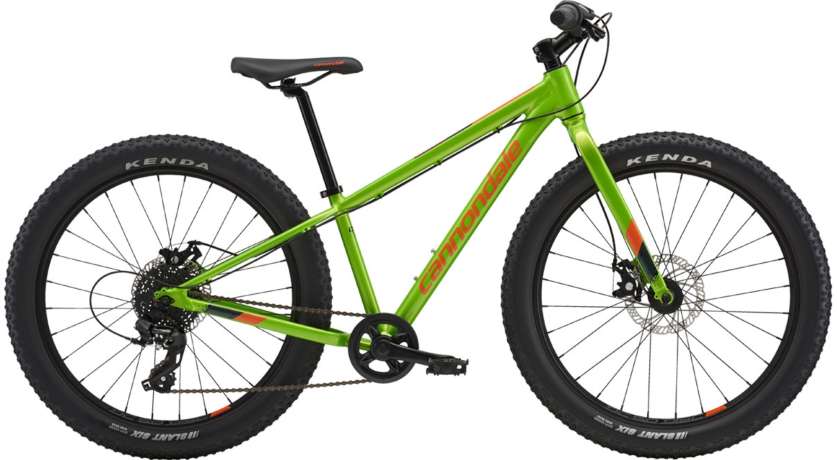 Cannondale Cujo 24 - Acid Green with Hazard Orange and Midnight Blue (AGR) uni