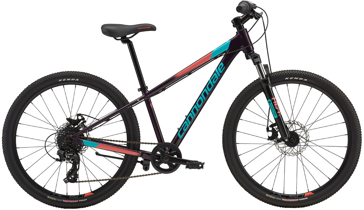 Cannondale Trail 24 Girl's - Galaxy w/ Turquoise and Coral, Gloss (GXY) uni