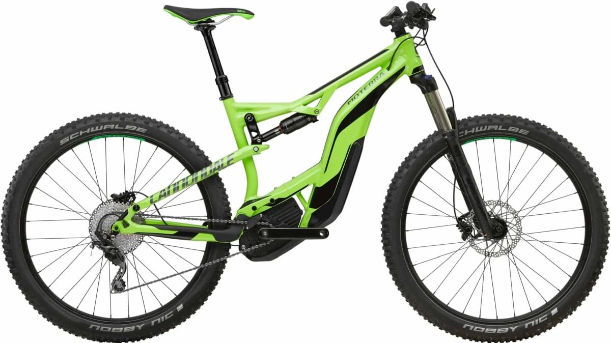 Cannondale Moterra 3 - Cannondale Green w/ Charcoal Gray and Jet Black - Gloss (GRN) L