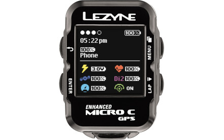 640e634d8e Tachometr s GPS Lezyne Micro Color GPS Hrsc Loaded - black