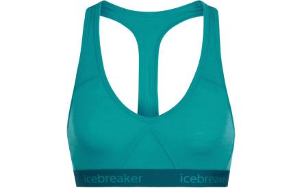 Sportovní podprsenka Icebreaker Wmns Sprite Racerback Bra - arctic  teal kingfisher ff2d88e015