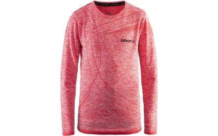 a742753169d Dětské funkční triko s dlouhým rukávem Craft Active Comfort LS - růžová