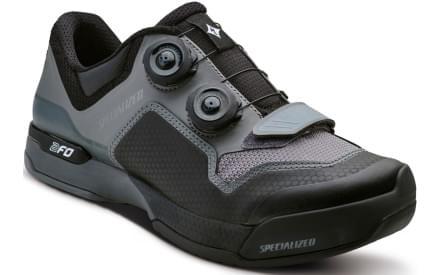 06601b739d4 Dámské cyklistické tretry Specialized 2FO Clip Lite Wmn - black dark grey