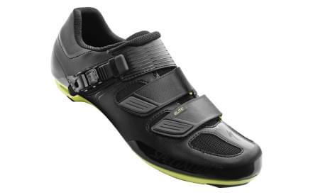 5271d644a6 Silniční tretry Specialized Elite Road - black hyper green