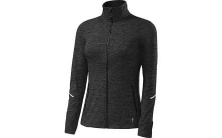 Dámská cyklistická bunda Specialized Shasta Track Jacket Wmn - black heather 10c340de2c