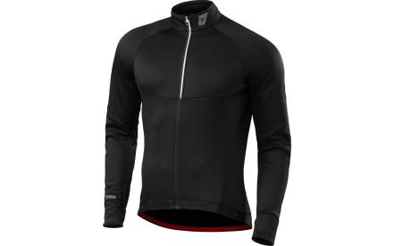 Cyklistický dres Specialized Therminal Jersey LS - black f94adba74a