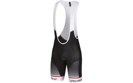 Cyklistické kalhoty Specialized Sl Expert Bib Short - black white red 66f24d73f3