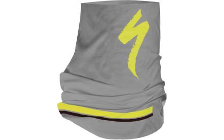 Šátek Specialized Tubular Headwear S-Logo - grey neon yellow black 85591632ba