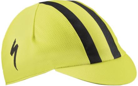 Cyklistická čepice Specialized Cycling Cap Light - lemon black 07e9d16a5e