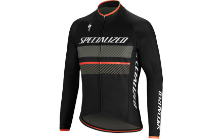 c2fb23c83bf Cyklistický dres Specialized Therminal Rbx Comp Logo Jersey LS -  black anthracite
