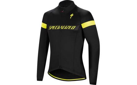 Cyklistická bunda Specialized Element Rbx Sport Logo Jacket - black neon  yellow fe3db8f9cfb