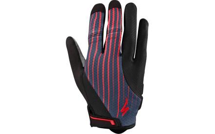 Dámské dlouhé cyklistické rukavice Specialized Bg Gel Glove LF Wmn - acid  red line fade 2c6c75d39d