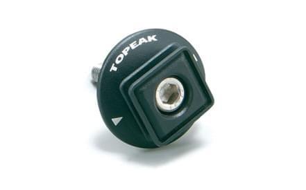 Držák Topeak F66 pro brašny iPhone DryBag na místo čepičky představce 677653cc142