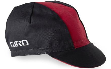 Cyklistická čepice Giro Classic Cotton - black red 33ecaae7c3