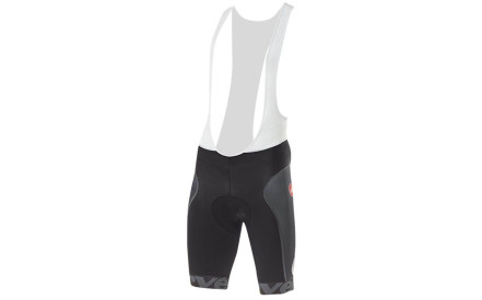 Cyklistické kraťasy Cervélo Free Aero Race Bibshorts - black anthracite red 3087ce51e8