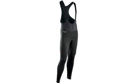 Cyklistické kalhoty Northwave Lightning Bibtights Total Protection Pad K130  3D - black de821ca9b2