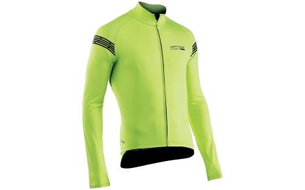 Cyklistická bunda Northwave Extreme H2O Jacket Long Sleeves Tot.Prot. -  yellow fluo 103e23191c