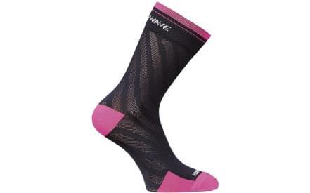 Dámské cyklistické ponožky Northwave New Logo Socks Woman - Blue Pink Fluo f565c145cb