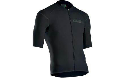 Cyklistický dres Northwave Ghost Jersey Short Sleeves Pro - Black 67ee44dce0