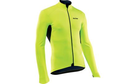 Cyklistická bunda Northwave Ghost H2O Jacket Total Protection Ls -  yellowfluo 246e2961da