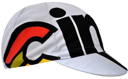 Cyklistická čepice Cinelli Nemo Tig – silver 94a9dacd79