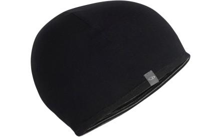 Čepice Icebreaker Adult Pocket Hat - black snow black 2742749fb2