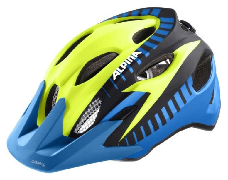 Alpina Carapax jr. Flash - blue-yellow-black 51-56