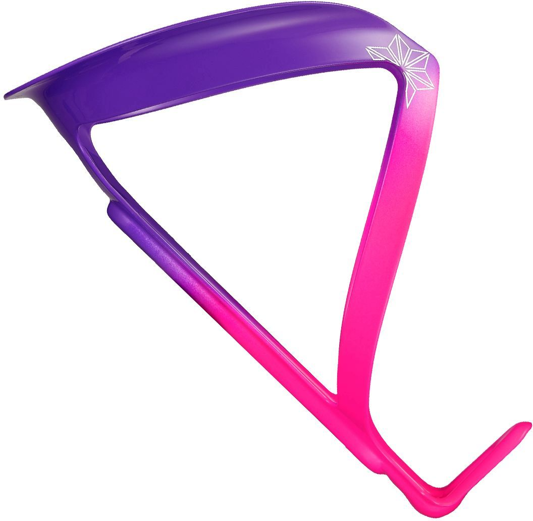 Supacaz Fly Cage Limited (Aluminum) - Neon Pink & Neon Purple uni