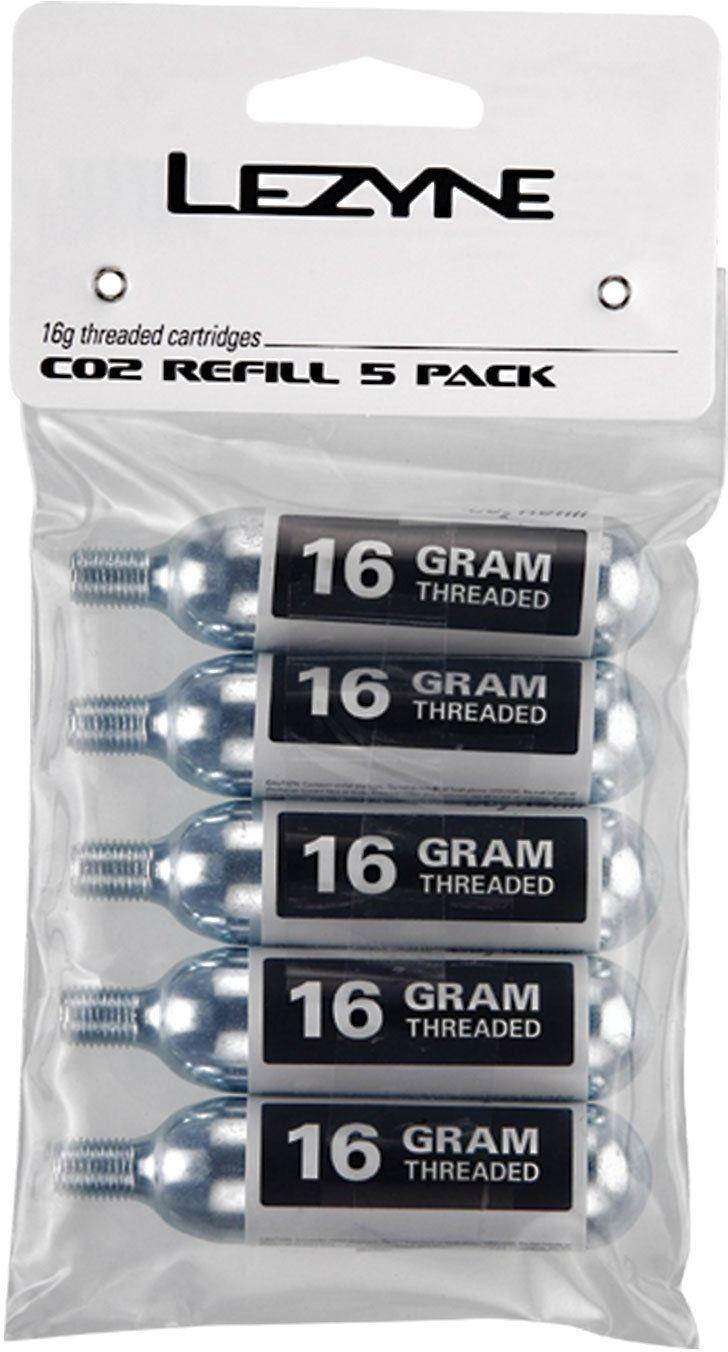 Lezyne 16G CO2 Cartridge - 5 pack uni