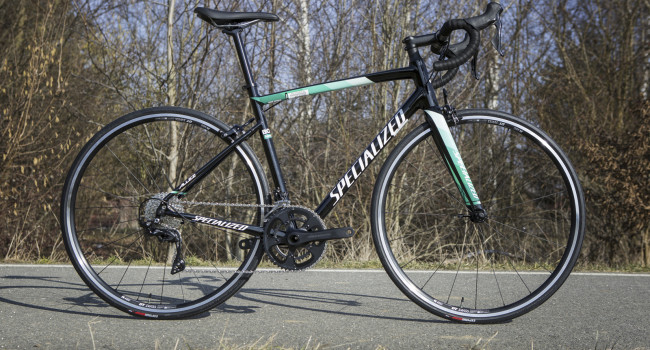 Kola od nás - Specialized Allez Elite - team Bora replica