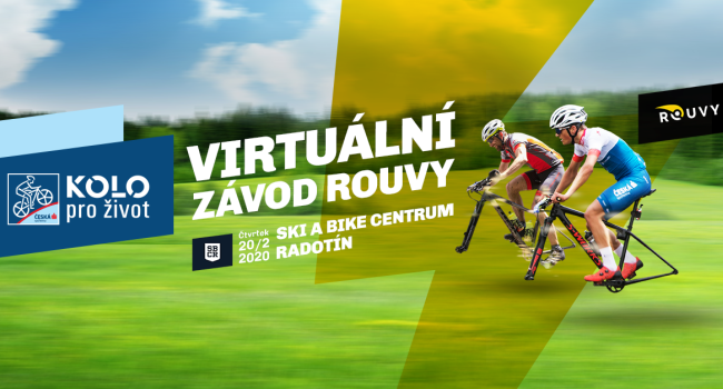20.2.2020 virtuální závod KPŽ a ROUVY u nás ve Ski a Bike Centru Radotín!
