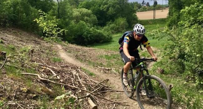 Cyklotrasa MTB -  Z Radotína přes Cukárk do Davle a údolím plným brodů zpět - 42 km