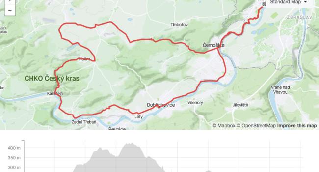 SBCRoute Amerika - Karlštejn | road | 45,29km | 589m