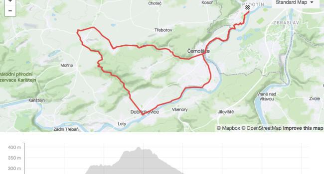 SBCRide Karlické údolí přes Černošice | ROAD | 36km | 295m
