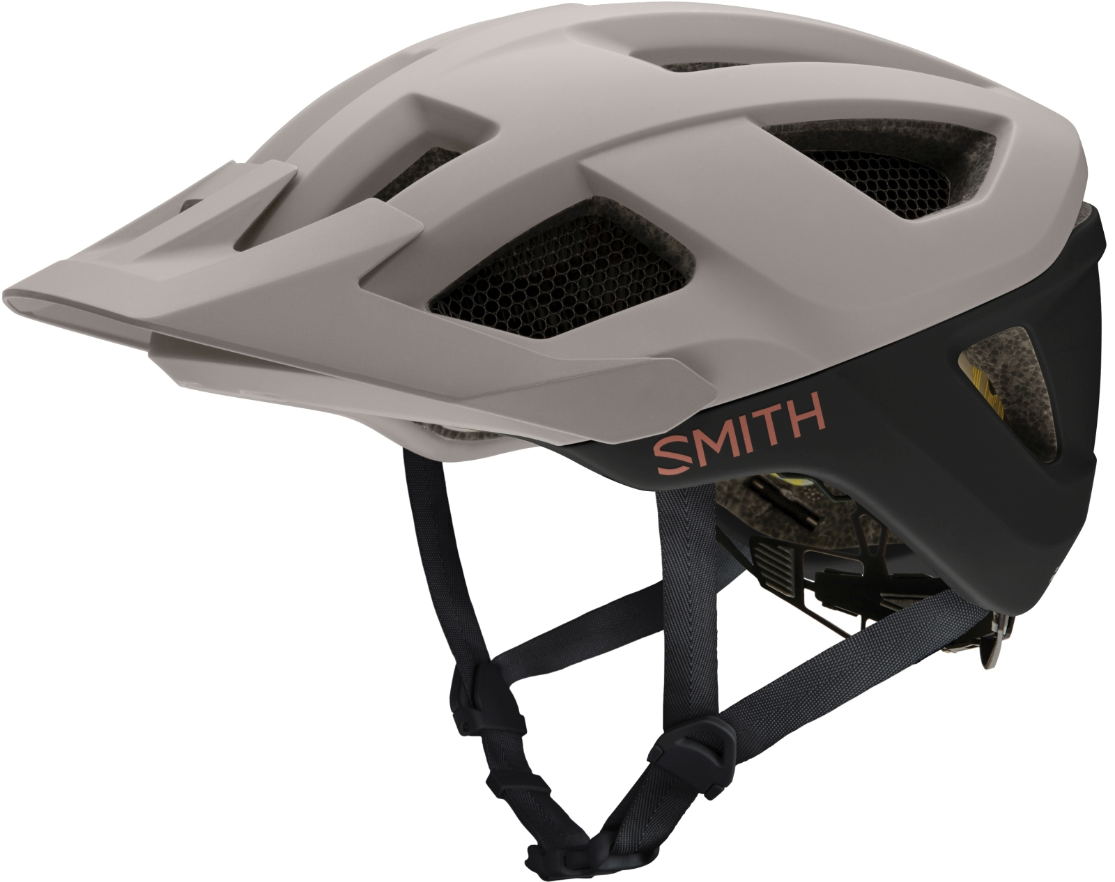 Smith Session MIPS  - matte tusk - black 55-59