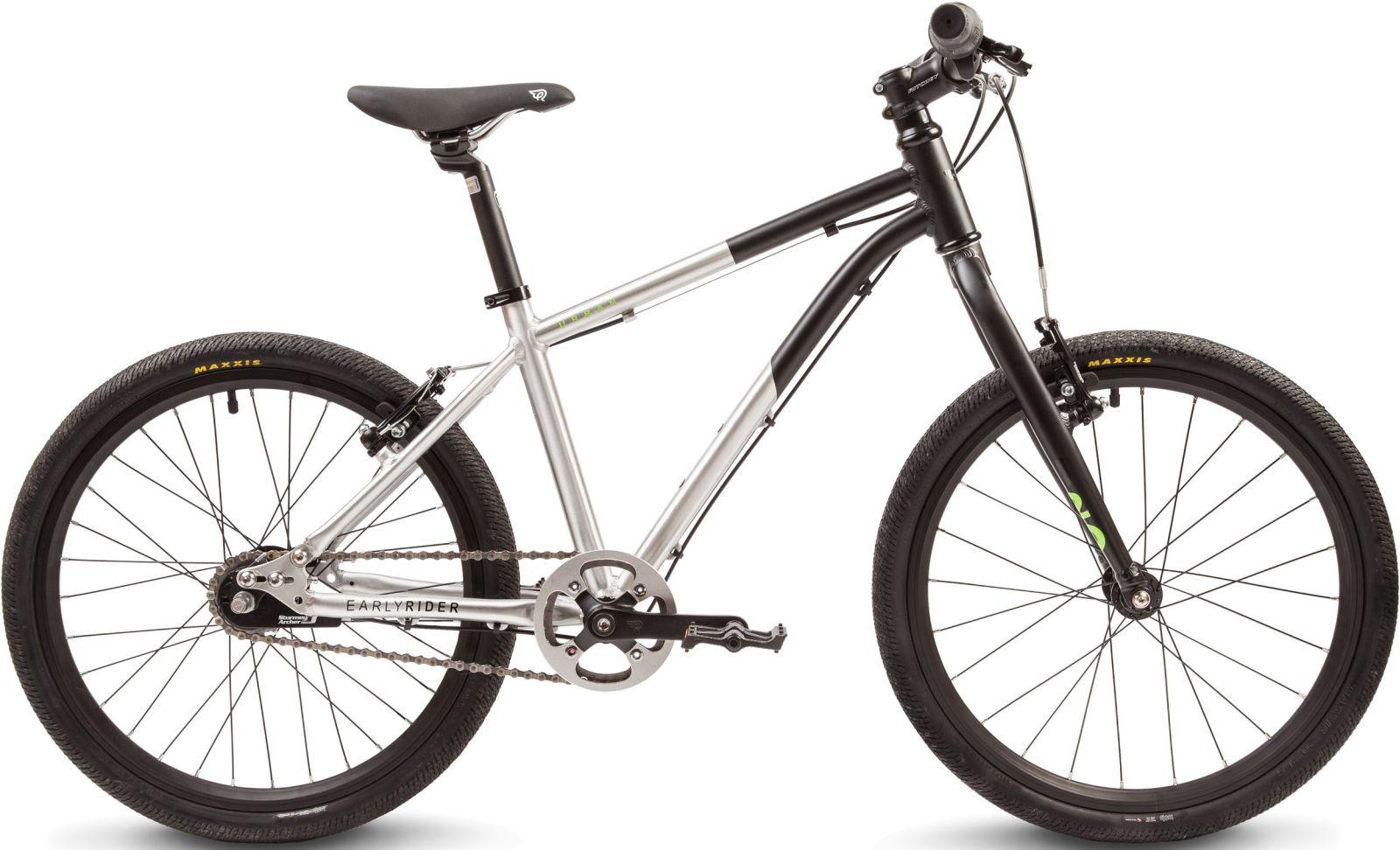 "Early Rider Hellion Urban 20"" Brush alu/ black uni"