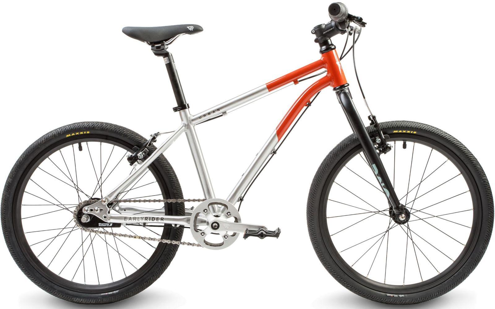 "Early Rider Hellion Urban 20"" Brush alu/ red uni"