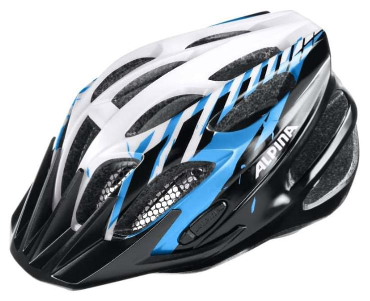 Alpina Fb jr. 2.0 flash - black-blue-white 50-55