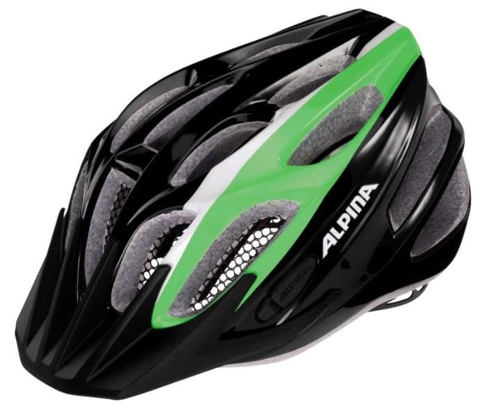 Alpina Fb jr. 2.0 flash - black-green-white 50-55