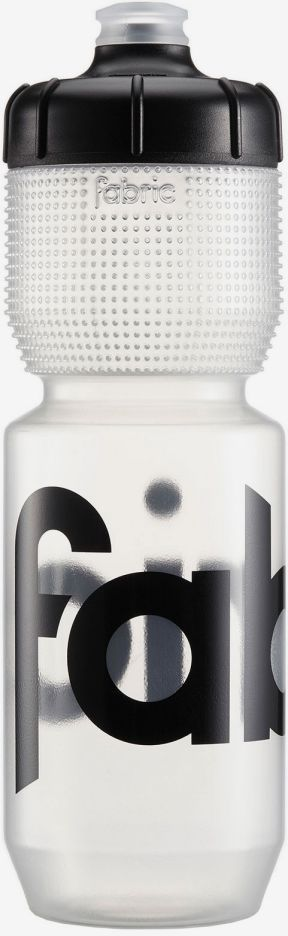 Fabric Gripper Bottle 750ml - clear/black cap uni