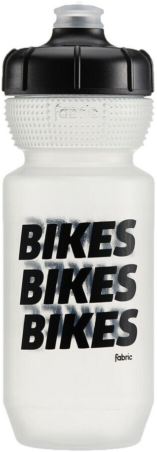 Fabric Gripper Bottle Clb Bikes 600Ml - clear/black cap/bikes uni