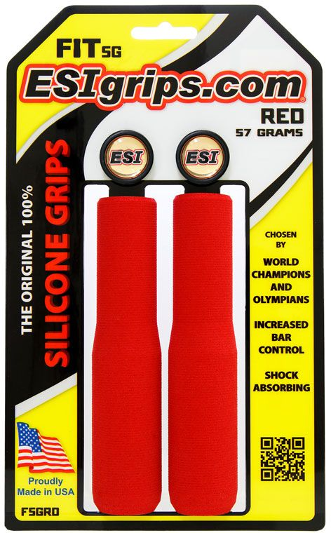 ESI Grips FIT SG - red uni