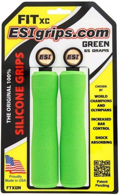 ESI Grips FIT XC - green uni