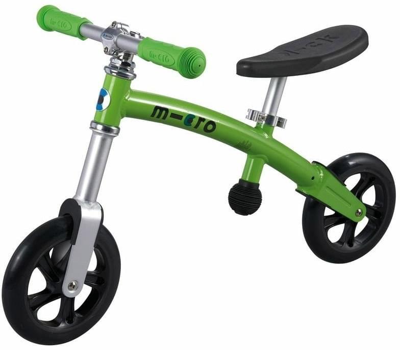 Odrážedlo Micro G-Bike+ Light zelené (green) uni