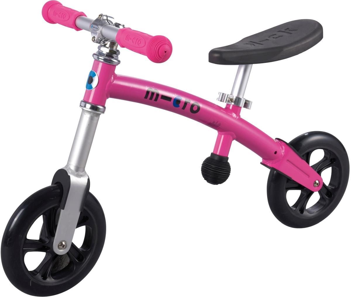Odrážedlo Micro G-Bike+ Light růžové (pink) uni