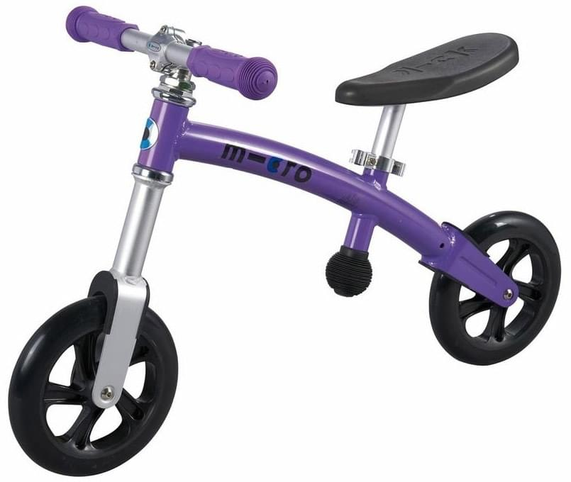 Odrážedlo Micro G-Bike+ Light fialové (purple) uni